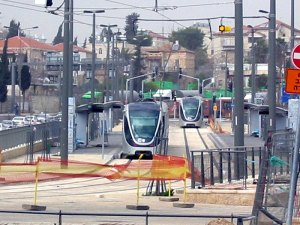 El polémico tren ligero israelí para conectar las colonias ilegales de Jerusalén Este