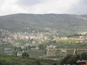 El pueblo de Burin, cercado y acosado por dos colonias israelíes ilegales