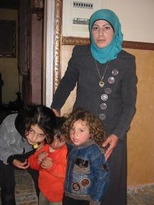 La casa de Nalaa Awaad fue destruída y varios integrantes de su familia arrestados