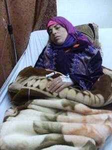 Descompensada y deshidratada después de un plantón de toda la noche, esta mujer tuvo que ser hospitalizada