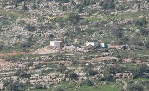 Expansión de la colonia Itamar en tierras palestinas de Awarta (P.Lyden, EAPPI)
