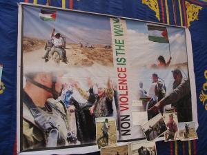 La resistencia palestina es noviolenta