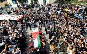 El pueblo de Gaza despide a Vik Arrigoni