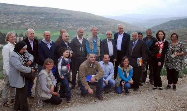 Ciudadan@s de Nablus en Yanun