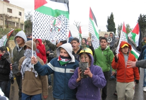 Protesta semanal de Nabi Saleh (Foto: AIC)