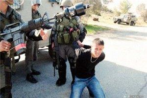 Ouday Tamimi, uno de los tantos menores arrestados en Nabi Saleh (7/1/11, PSCC)
