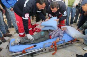 En abril 2011, un proyectil de gas lacrimógeno dañó el hígado del niño Mohamed Bilal Tamimi