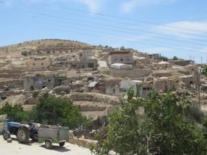 La aldea de Al-Tuwani (250 habitantes) en las Colinas del Sur de Hebrón