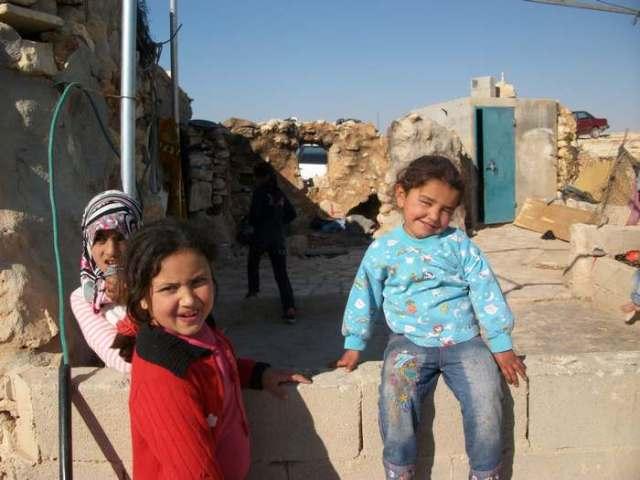 Niñas de Um Fagarah, creciendo en medio de la violencia de la ocupación