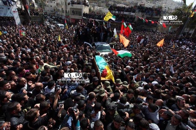 Funeral de Arafat Jaradad en Sa'ir, 25-2-13 (Issam Rimawi)