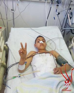 Mohamed Al-Kurdi (13), de Aida, Belén (Murad Abusrur)