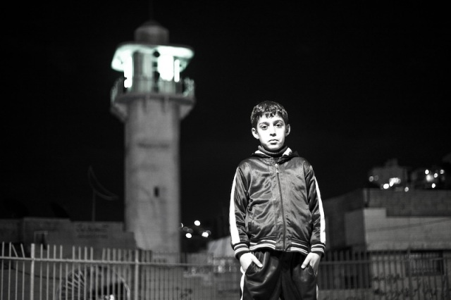 Uno de los protagonistas del reportaje fotográfico de Samar Hazboun.