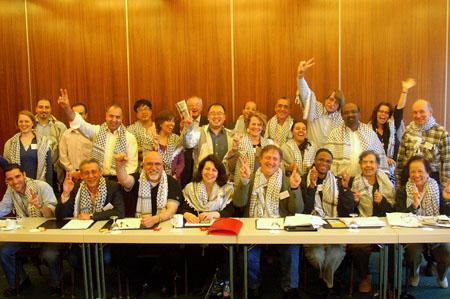 Coalición Ecuménica de Turismo que se reunión en Ginebra para impulsar un turismo alternativo en Palestina