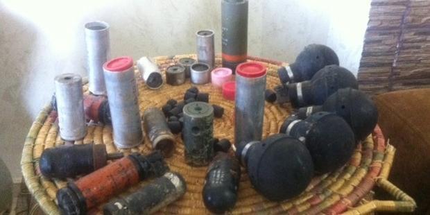 Distintos tipos de armas usados por el ejército israelí contra civiles (Amnesty International).