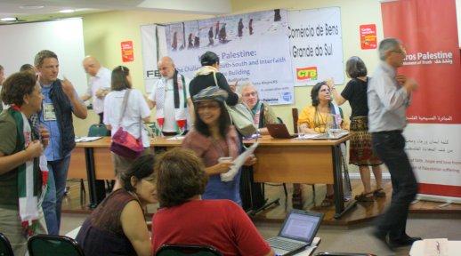 Presentación de Kairos Palestina en el FSM Palestina Libre (Porto Alegre, 2012)