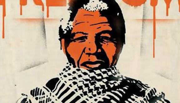 Ilustración de Mandela por Pep Montserrat
