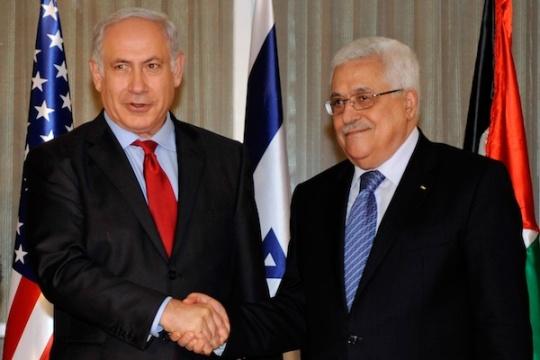 Netanyahu y Abbas en Washington en septiembre de 2010 (Foto: Dpto. de Estado)
