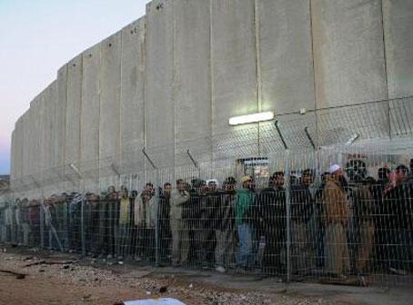 Muro y checkpoint 300 que separa a Belén de Jerusalén.