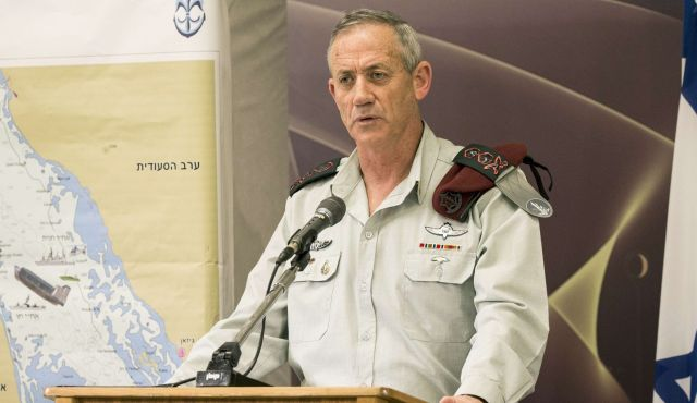 Benny Gantz, jefe del ejército israelí (Foto: AFP)