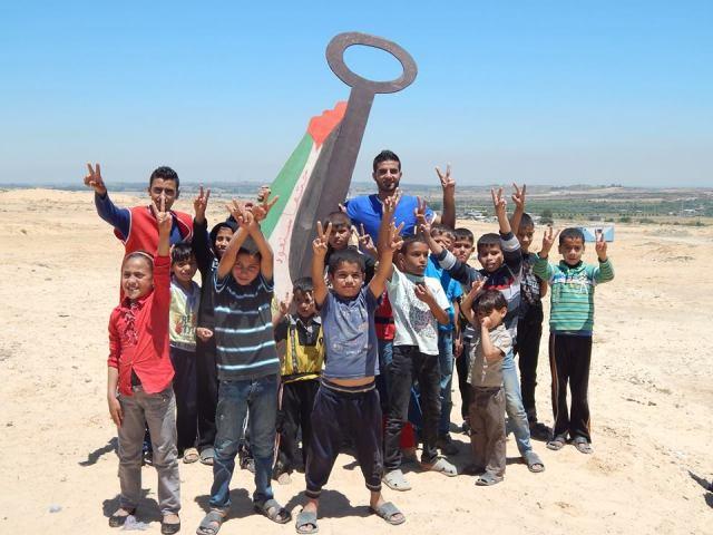 Conmemoración de al Nakba 2014 en Beit Hanun, Gaza (Nora F. Espino)