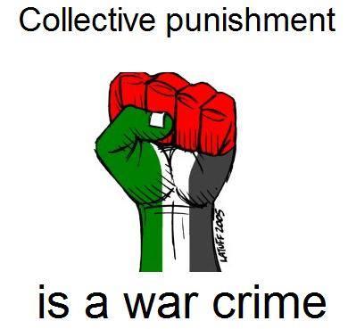 El castigo colectivo es un crimen de guerra según el derecho internacional humanitario