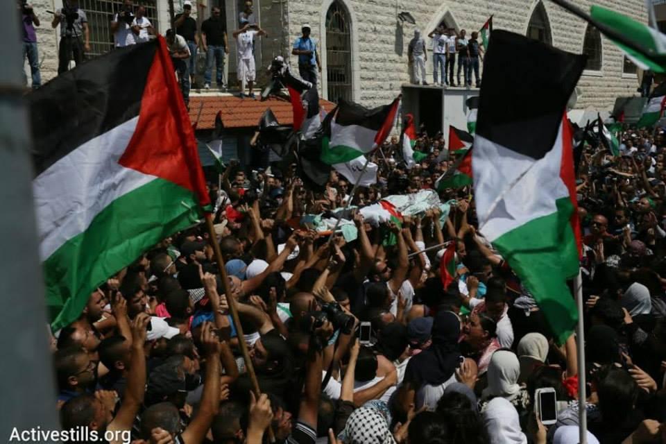 Funeral de Mohammed Abu Khdeir en Jerusalén Este