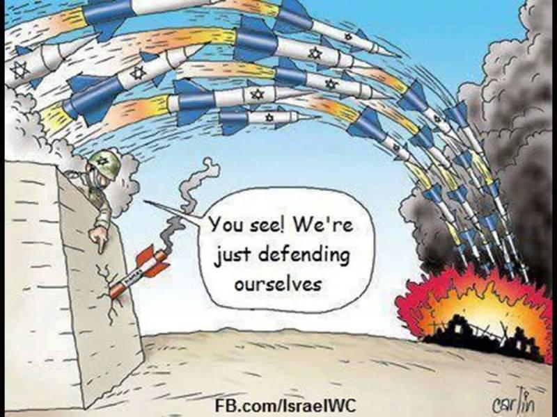 ¿Ven? Solo nos estamos defendiendo!