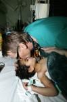 Mads Gilbert en el hospital Al Shifa, Gaza (Abid Katib, Getty Images)