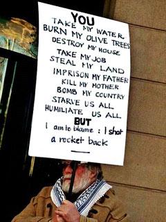 """""""Tú robas mi tierra, arrancas mis olivos,"""