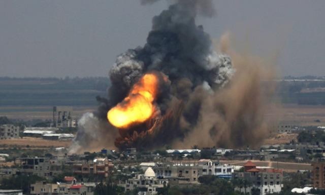 Bombardeo sobre Gaza, 8 de julio de 2014