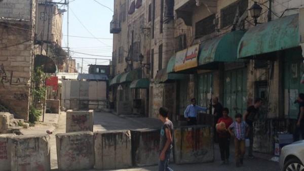 Checkpoint israelí en la ciudad ocupada de Hebrón, Cisjordania, escenario de ataques y arrestos en las últimas semanas / Olga Rodríguez