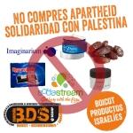 Productos israelíes que la RESCOP invita a boicotear