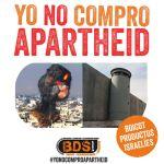 Campaña de BDS de la RESCOP contra el apartheid israelí