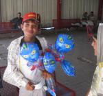 vendedor de globos