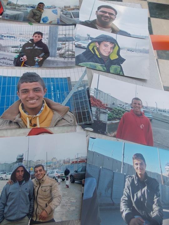 Algunas de las fotos que Tamar regala a sus amigos.