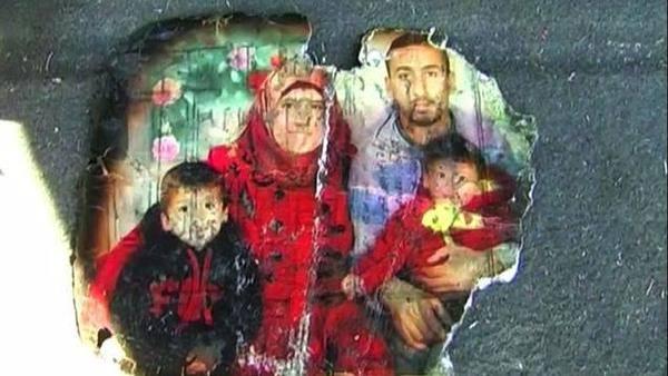 Ahmad, Ali, su madre y su padre, víctimas del terrorismo sionista.
