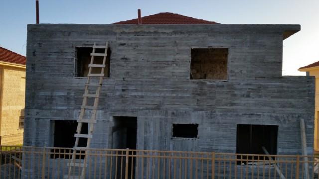 Construcción nueva en la colonia Ofra.