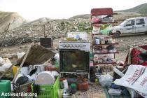 Demolición en Karzalya, Valle del Jordán. 11/2/16.