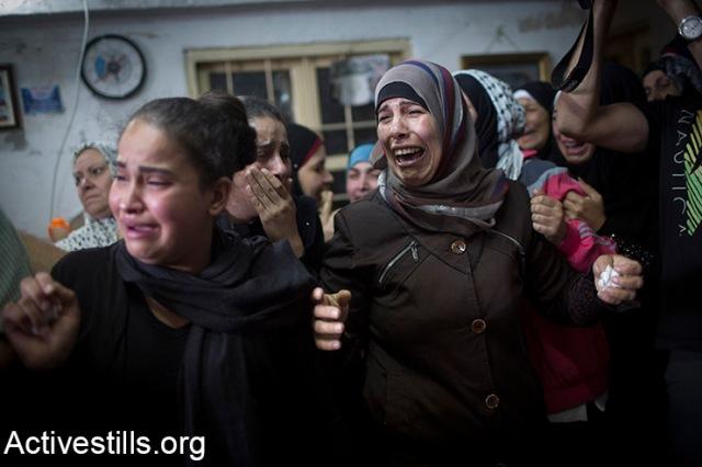 Funeral of Ahmad Sharake, Jalazun refugee camp, West Bank, 12.10