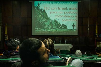 Semana del Apartheid en Bogotá (BDS Colombia).