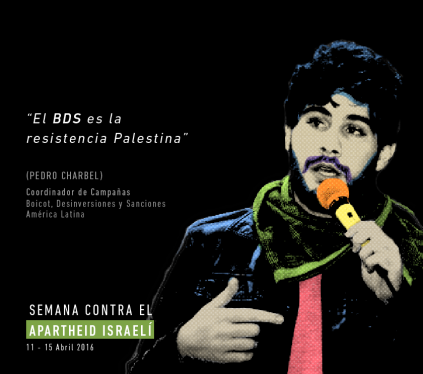 Cartel de BDS Chile