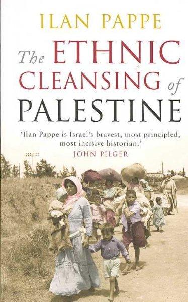 """Portada del libro """"La limpieza étnica de Palestina""""(Fuente: Wikipedia)."""