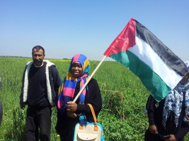 El movimiento de mujeres en Palestina exige la igualdad ante la ley. (Isabel Pérez)-