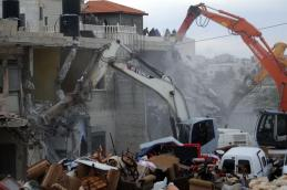 Demoliciones en Jerusalén Este.