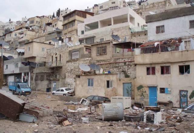 Barrio palestino de Jerusalén Este. (CEDOC).