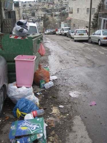 Silwan, barrio palestino a pocos metros de la Ciudad Vieja.