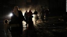 Gaza nocturna.
