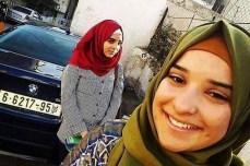 Hadil (14) y Nurham Awad (17).