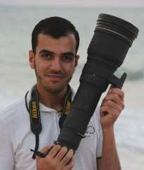 Yasser Murtaja, conocido reportero gráfico, asesinado mientras cubría la Gran Marcha del Retorno.