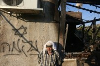Graffiti en hebreo clamando venganza en una vivienda de Duma. (Afpjaafar Ashtiyeh, 2015).